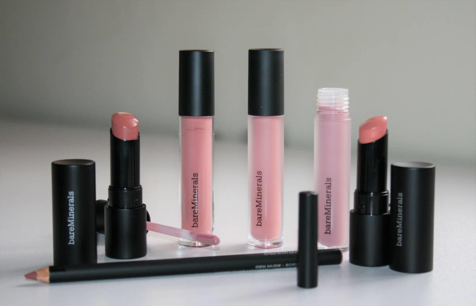 bareMinerals Gen Nude Lip Collection