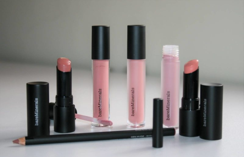 bareMinerals Gen Nude Lip Collection
