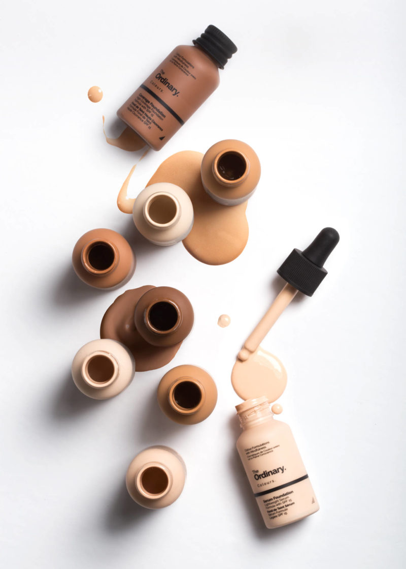 The Ordinary Colours – Coverage Foundation and Serum Foundation
