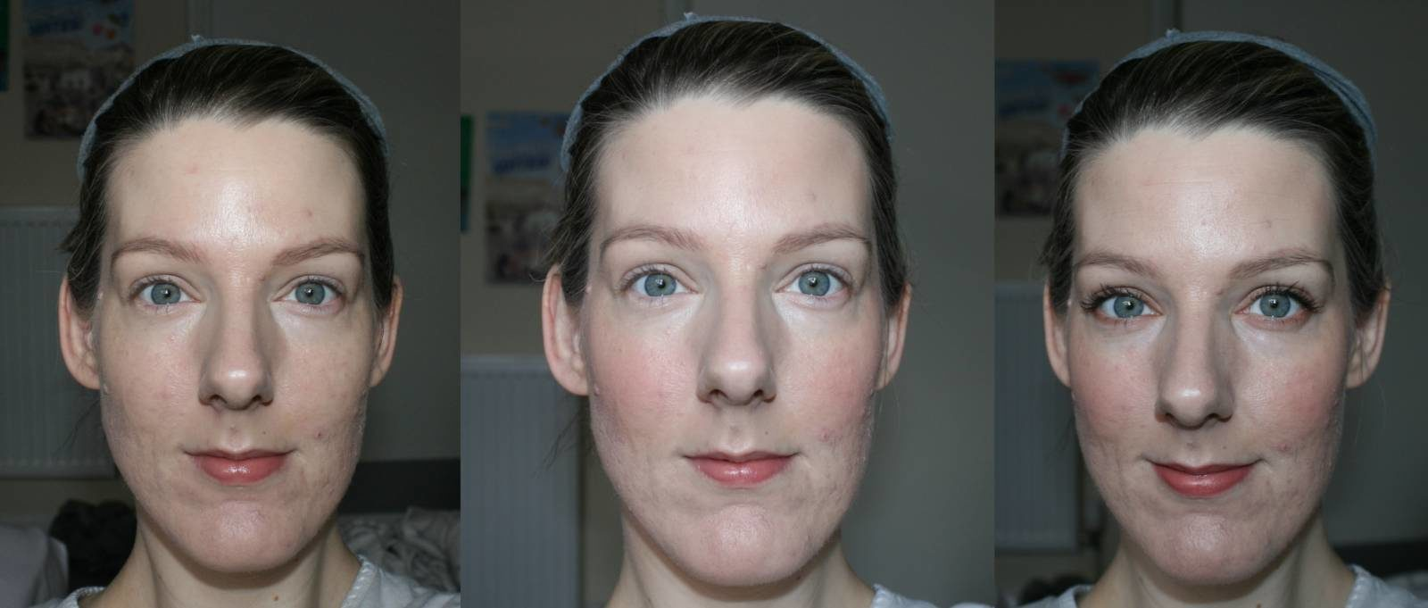 Charlotte Tilbury The Complete Natural, Glowing Look before and after