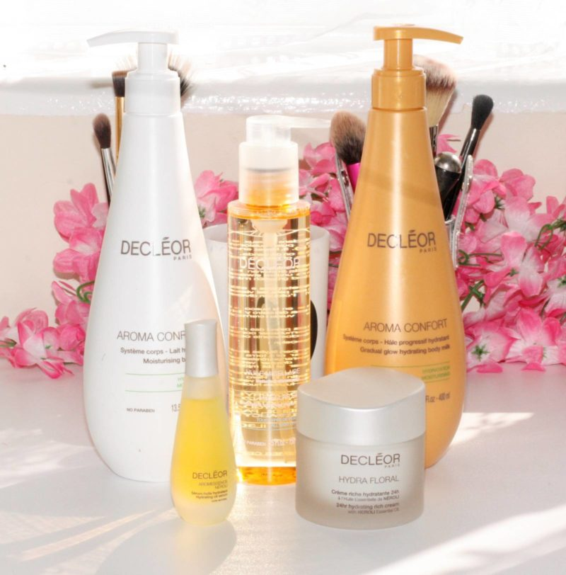 QVC TSV: Decleor 4 Piece Skin in Bloom Hydrating Collection