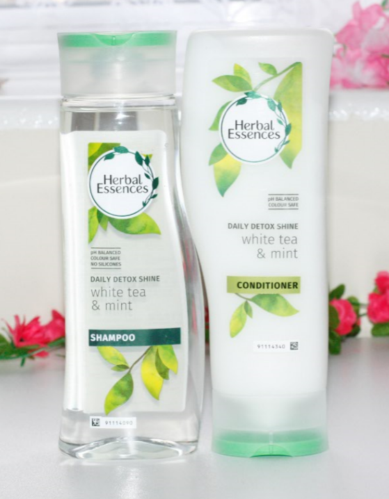 Herbal Essence Daily Detox Shine Shampoo and Conditioner