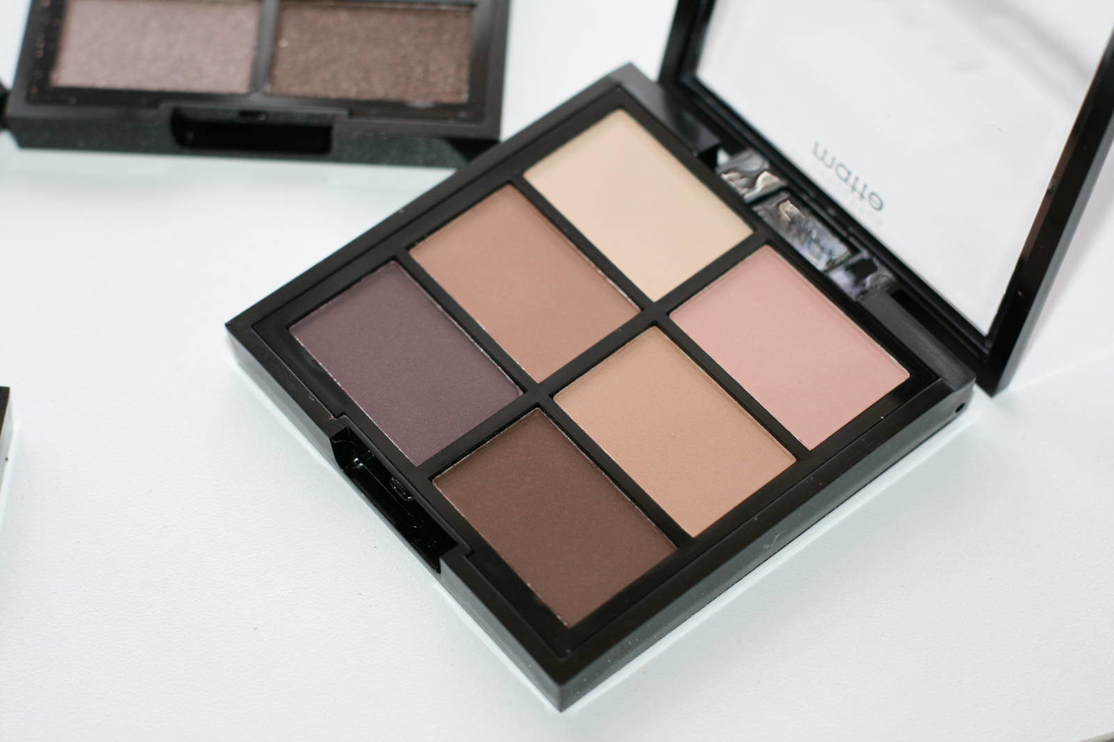 MUA Professional 6 Shade Eyeshadow Palettes Soft Suedes