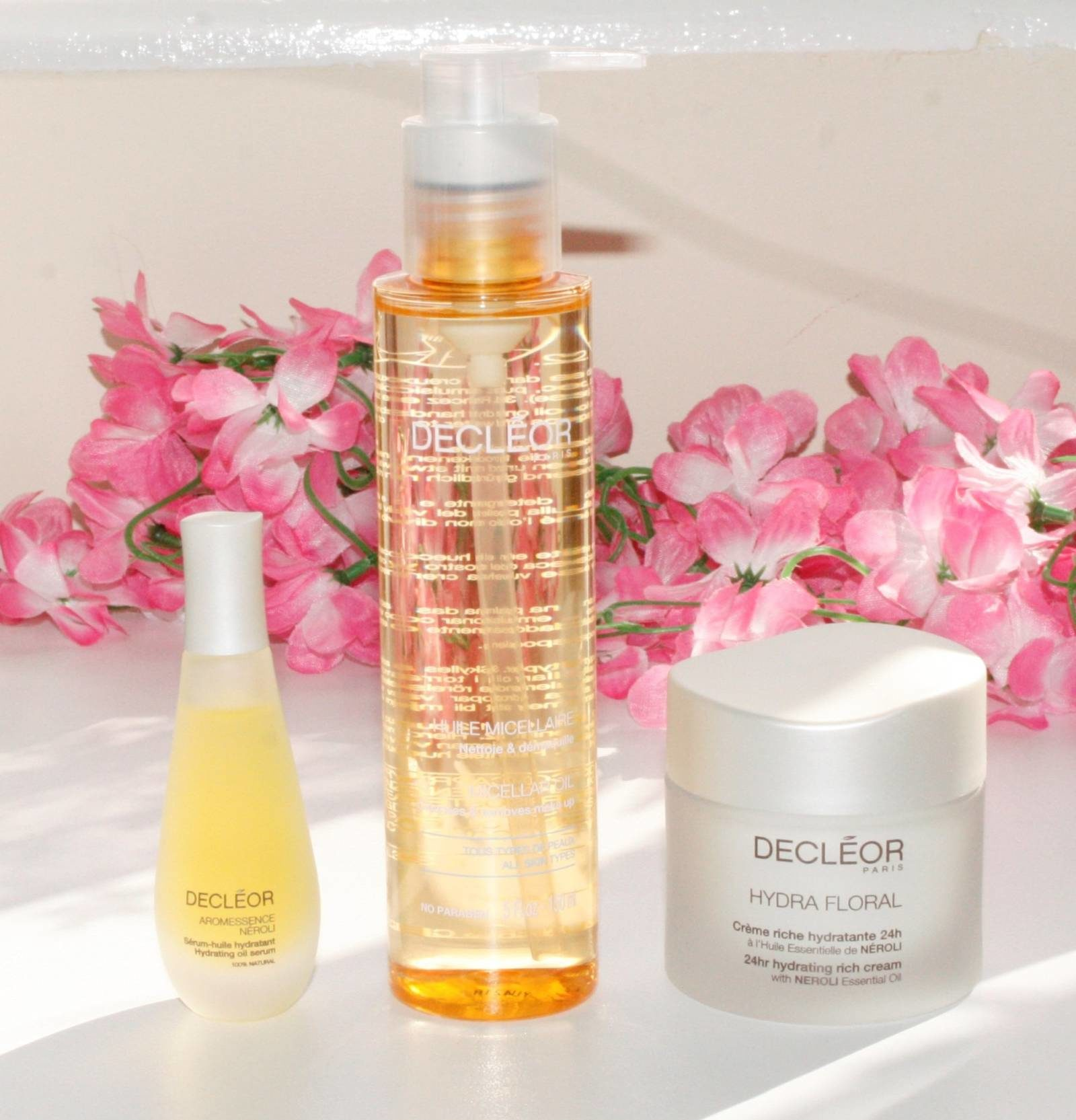 QVC TSV Decleor 4 Piece Skin in Bloom Hydrating Collection March 2017 Contents