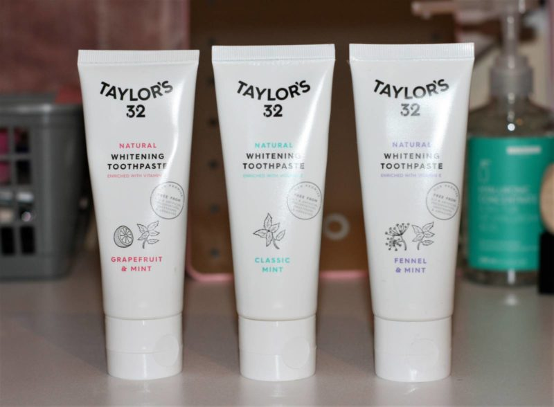 New Launch: Taylor's 32 Toothpaste Trio