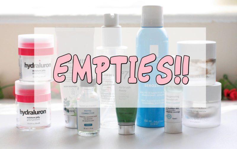Empties #1 – Woo!