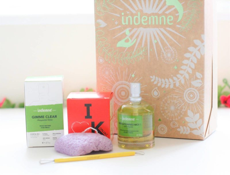 Indemne Gimme Clear! Unexpected Lotion, Konjac Sponge and Blackhead Remover