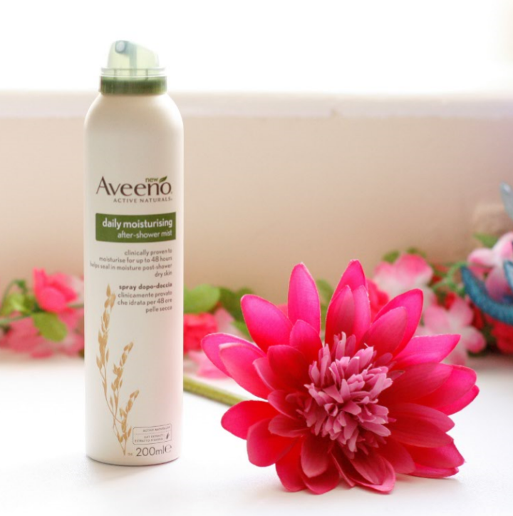 Aveeno Daily Moisturising After Shower Mist Review