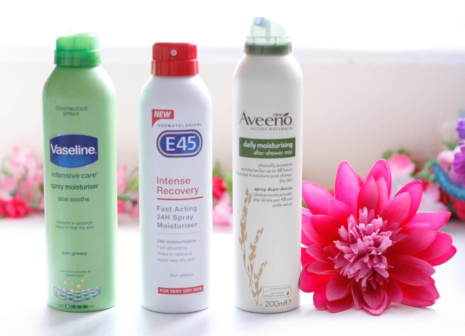 Body Spray Moisturisers Review