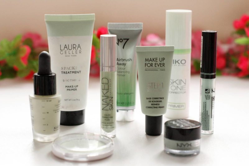 Essential Colour Correctors: The Greens