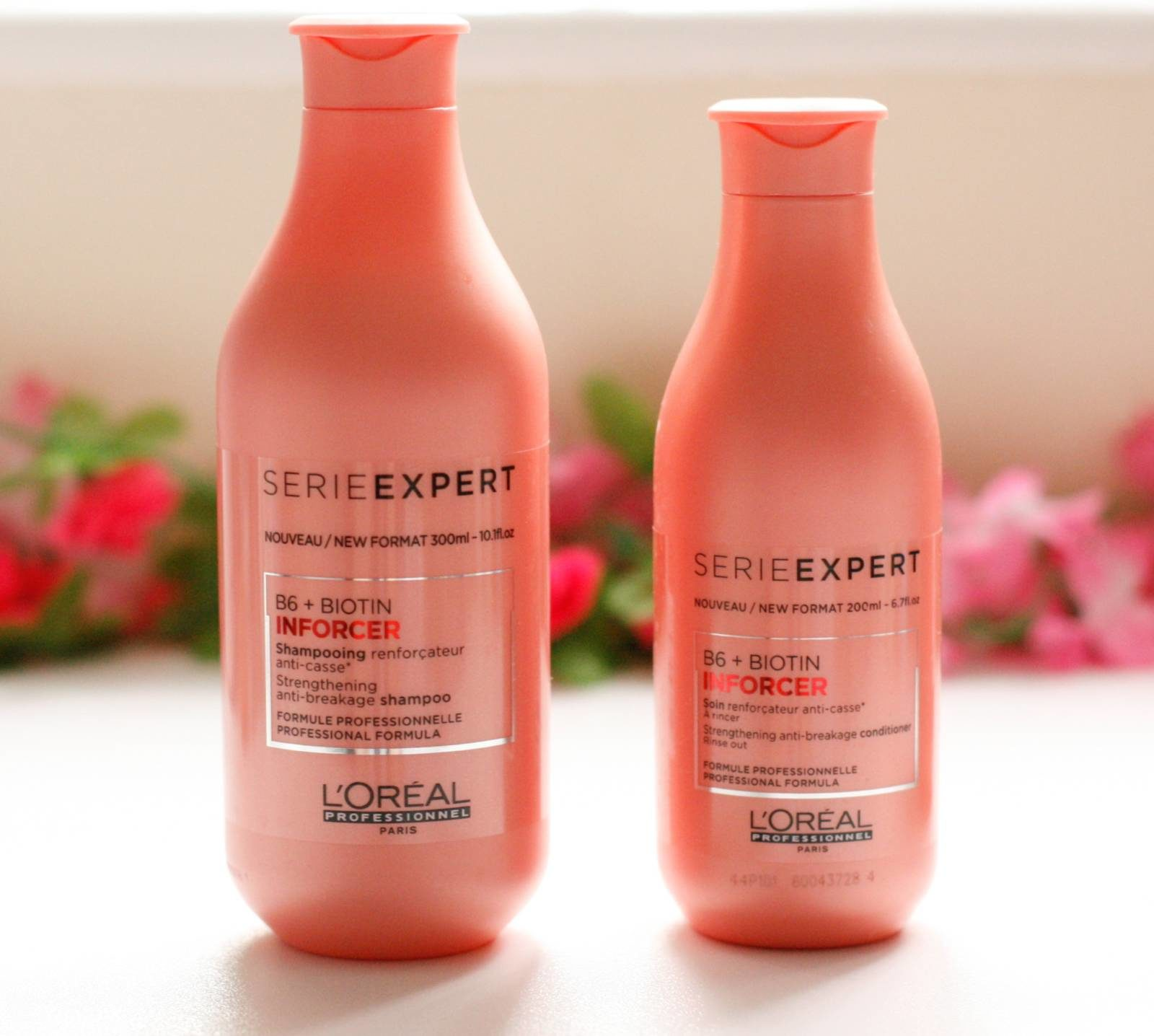 L'Oreal Serie Expert Inforcer Vitamin B6+ Biotin Shampoo, Conditioner Review