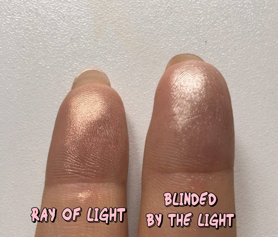 Too Faced Love Light Prismatic Highlighters Swatches
