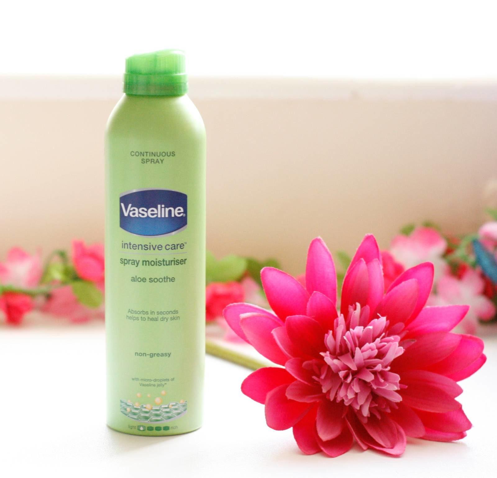 Vaseline Intensive Care Aloe Sooth Spray Moisturiser Review