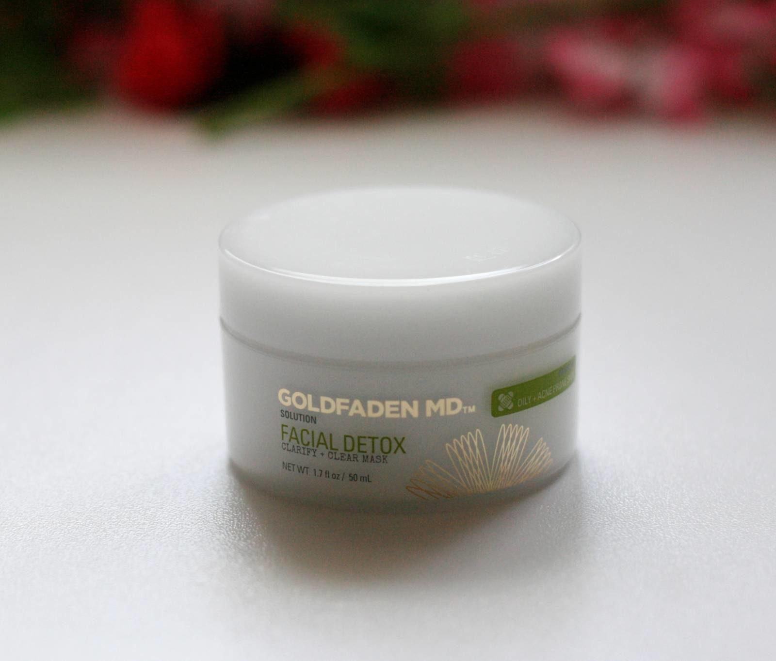 Goldfaden Facial Detox Clarify + Clear Mask Review