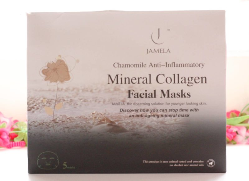 Mask Monday: Jamela Chamomile Anti-Inflammatory Face Masks