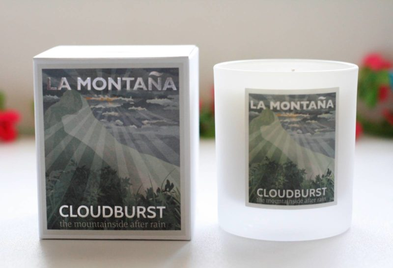 La Montana Cloudburst Candle