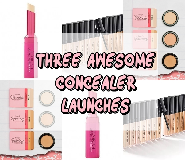 Three Awesome Concealer Launches