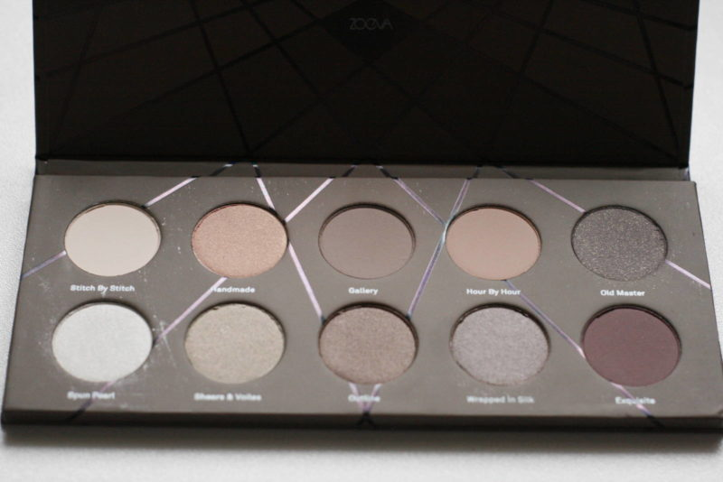 My collection of Zoeva eyeshadow palettes with swatches