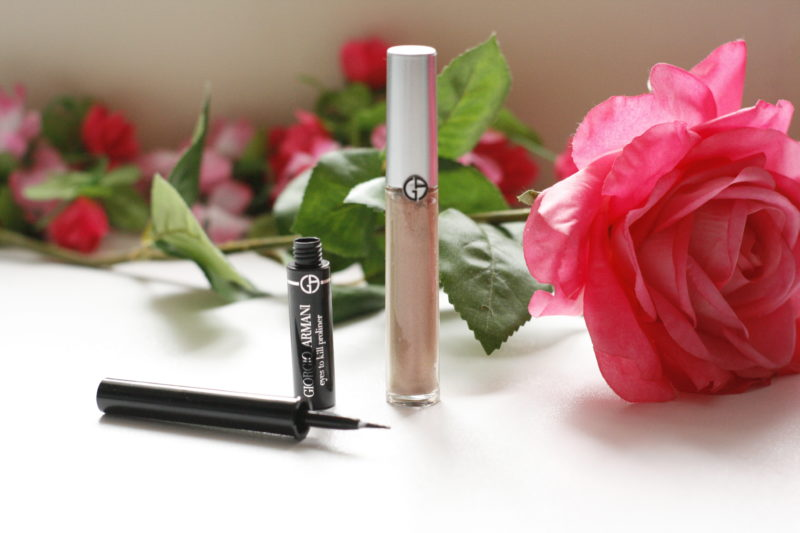 Armani Beauty Eyes to Kill Proliner and Eye Tint Liquid Eyeshadow