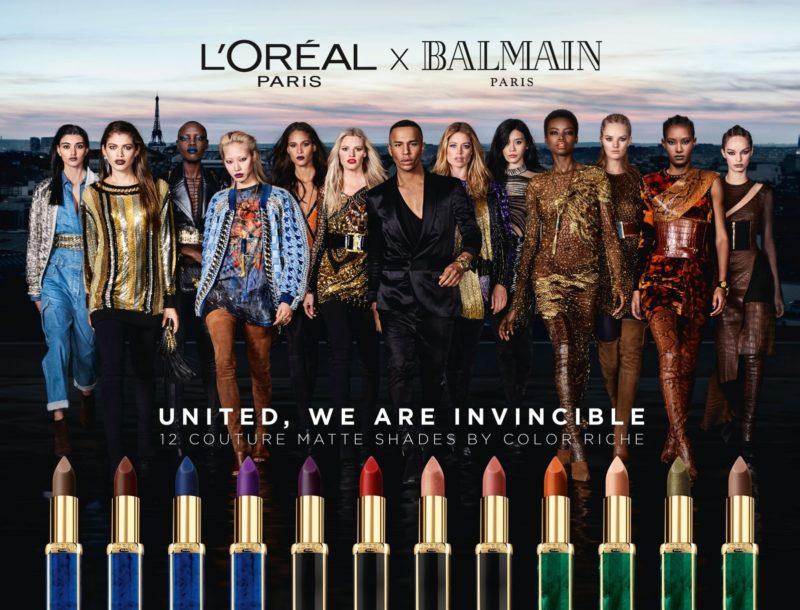 L'Oréal Paris x Balmain Paris Color Riche Collection