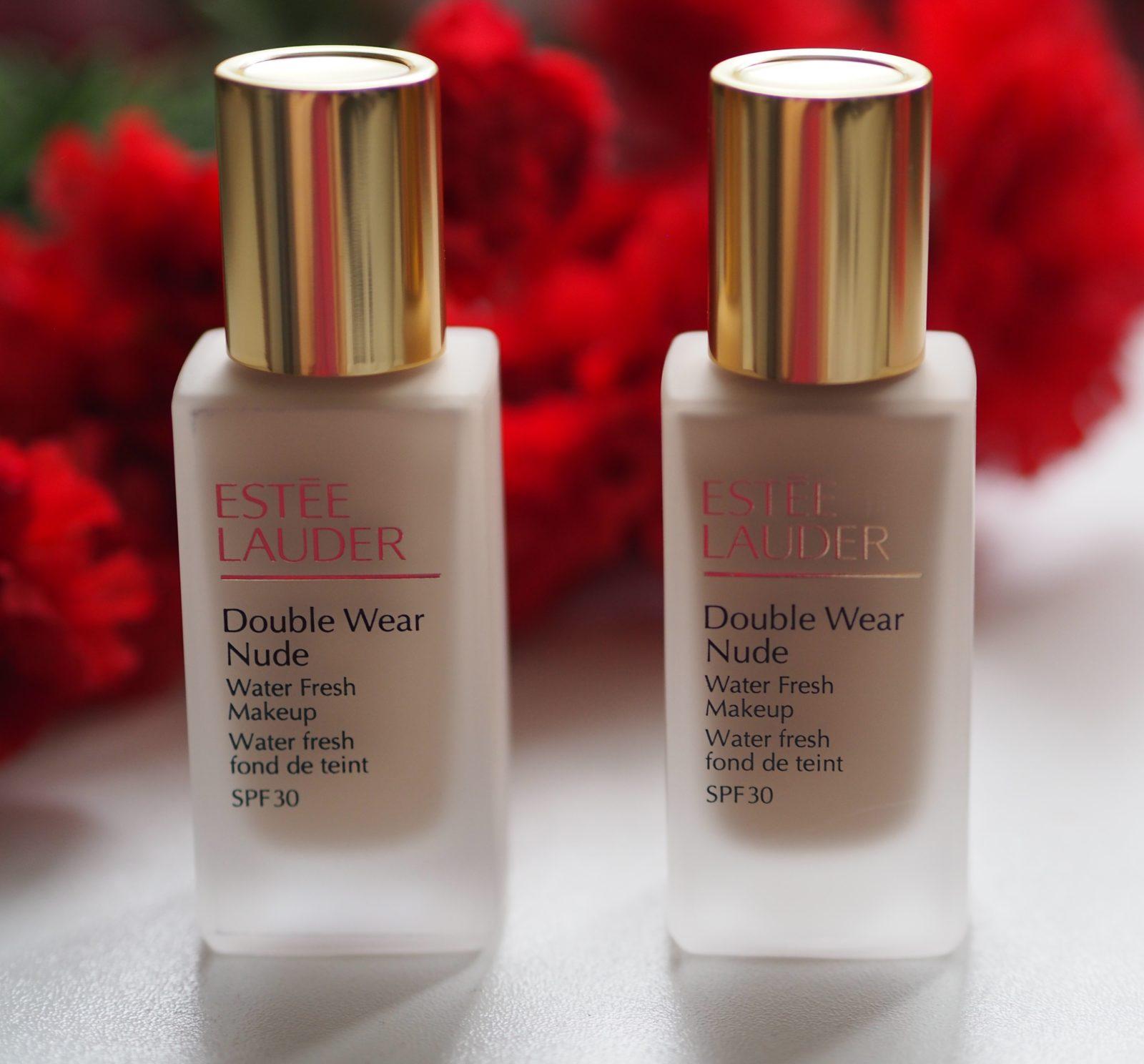 Estee Lauder Double Wear Nude Water Fresh Makeup Review