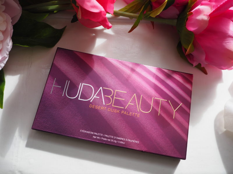 Huda Beauty Desert Dusk Eyeshadow Palette – First Look and Swatches
