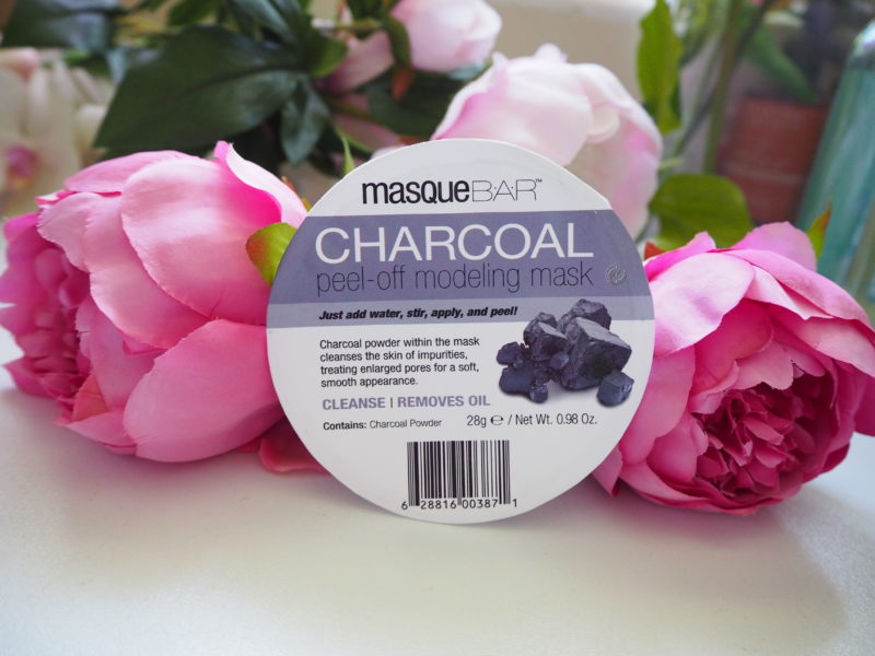 Mask Monday: MasqueBar Charcoal Peel-Off Modelling Mask
