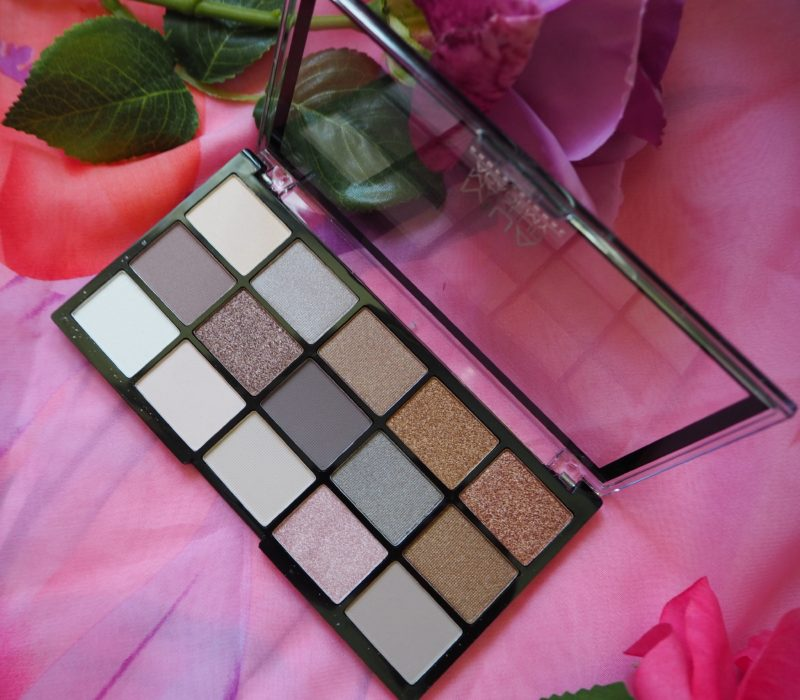 MUA Pro Eyeshadow Palette, MUA Pro palette Heavenly Neutral