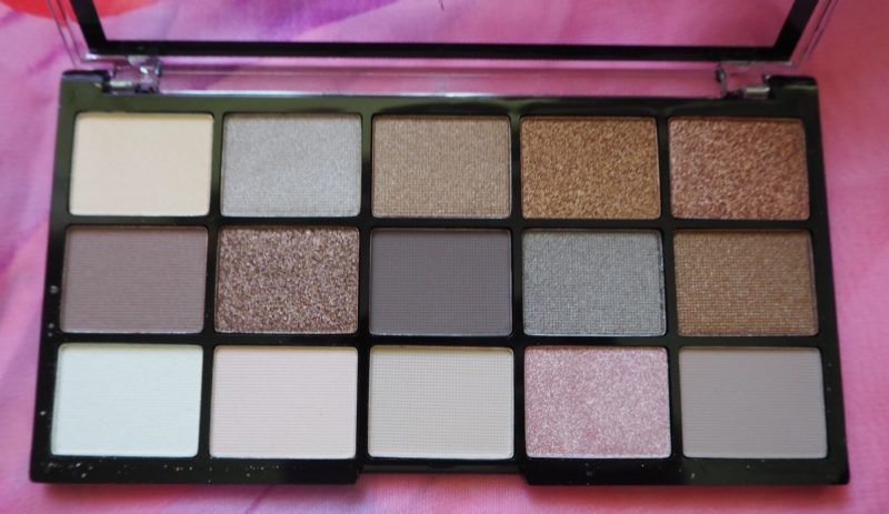 MUA Pro Eyeshadow Palette, MUA PRO Heavenly Neutral Palette