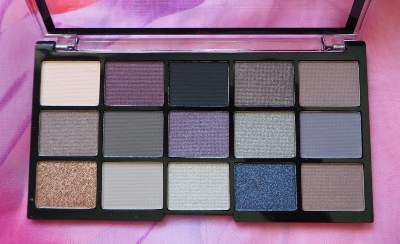 MUA Pro Eyeshadow Palette Twilight Delight, MUA Professional Palette