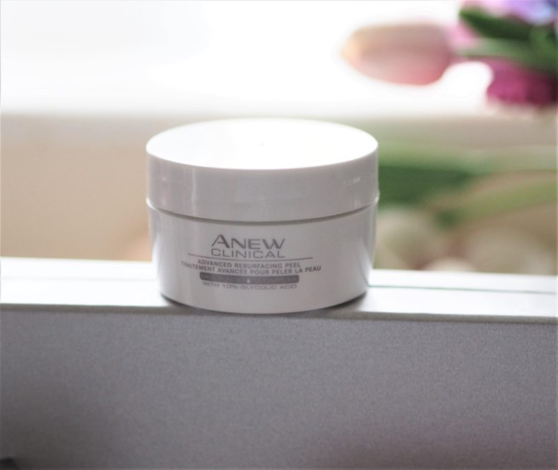 Avon peel pads, Avon Clinical Anew Even Resufacing Peel Pads