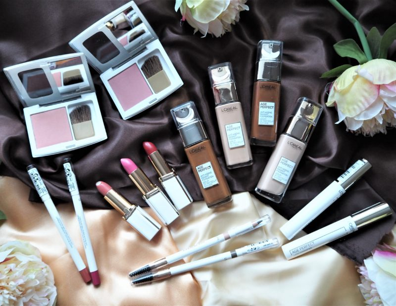 L'Oreal Paris Age Perfect Makeup – Review and Competition #AD
