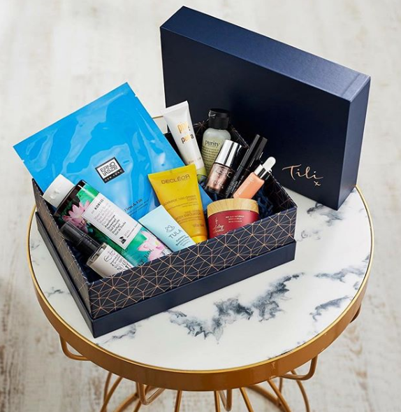 QVC Tili Beauty box November 2017, Tili November box contents