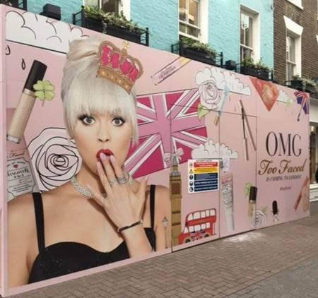 too faced london