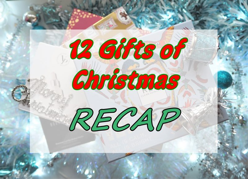 12 Gifts of Christmas: A Recap