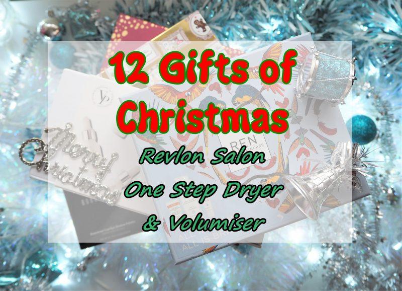12 Gifts of Christmas: Revlon Salon One Step Dryer & Volumiser
