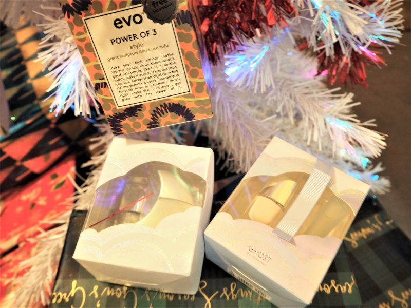 Christmas Tree Beauty Ornaments Ghost and EVO