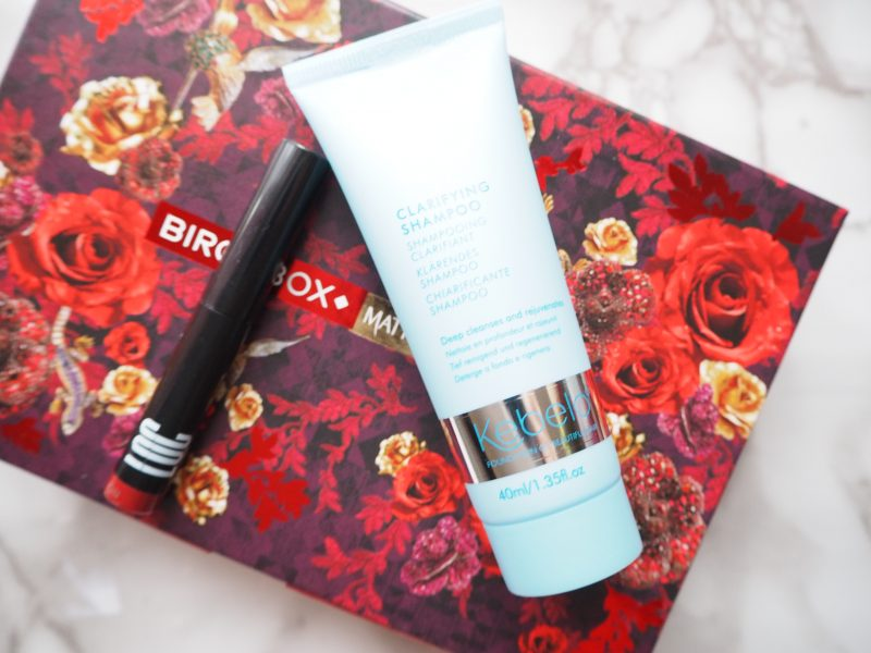 Birchbox December 2017 Contents Review
