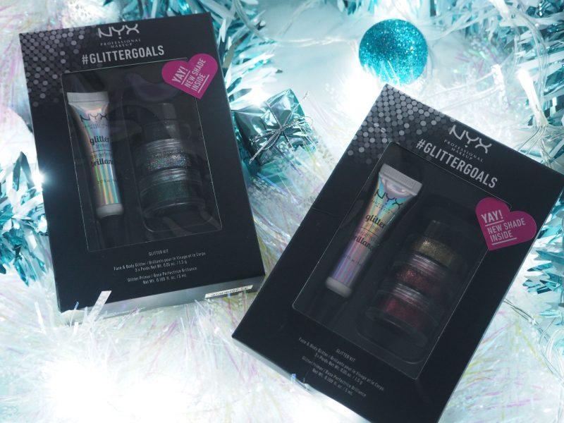 NYX Christmas 2017 Glitter Kits