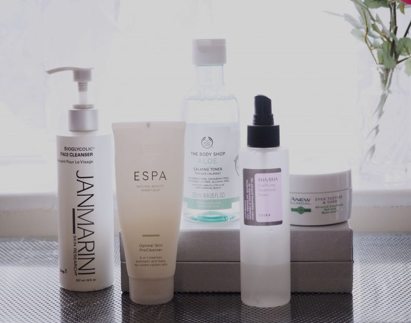 Skincare of 2017 - Cleansers and Toners