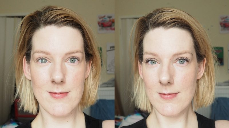 Benefit BadGal Bang Mascara Review Before and After