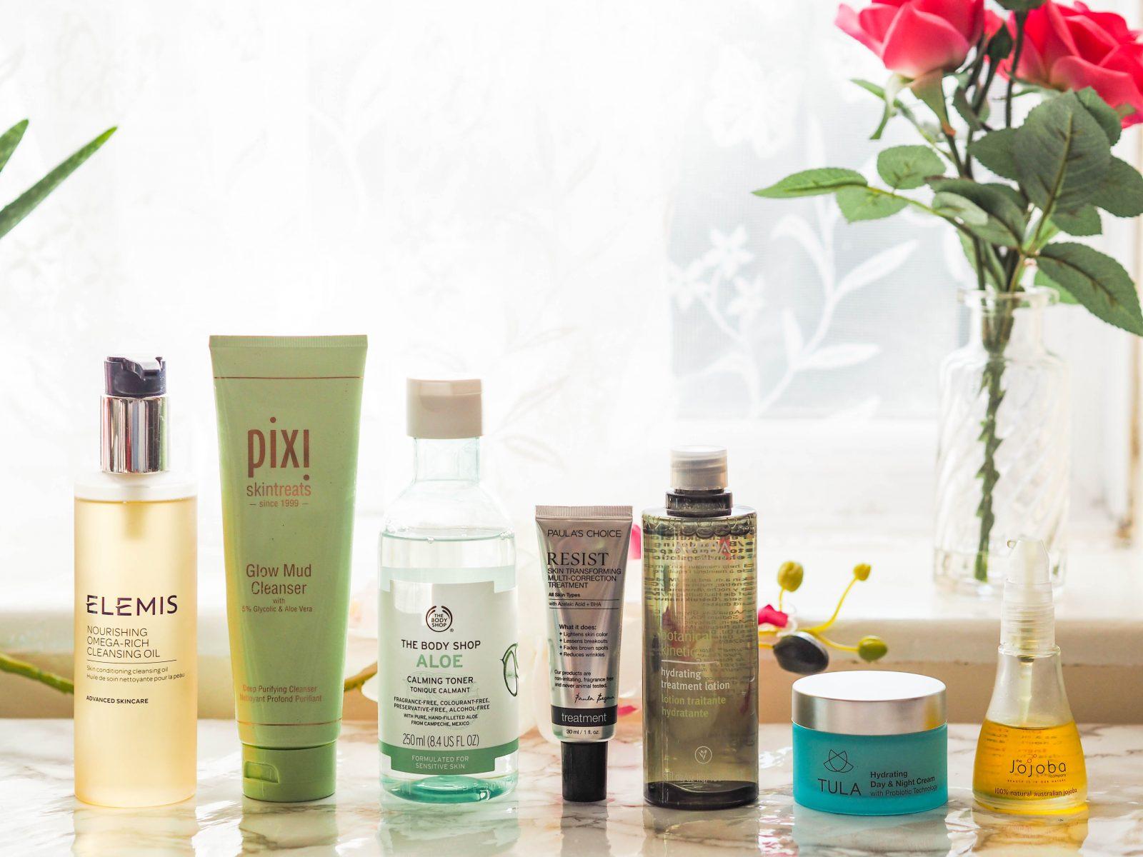 Seven Step Skincare Routine