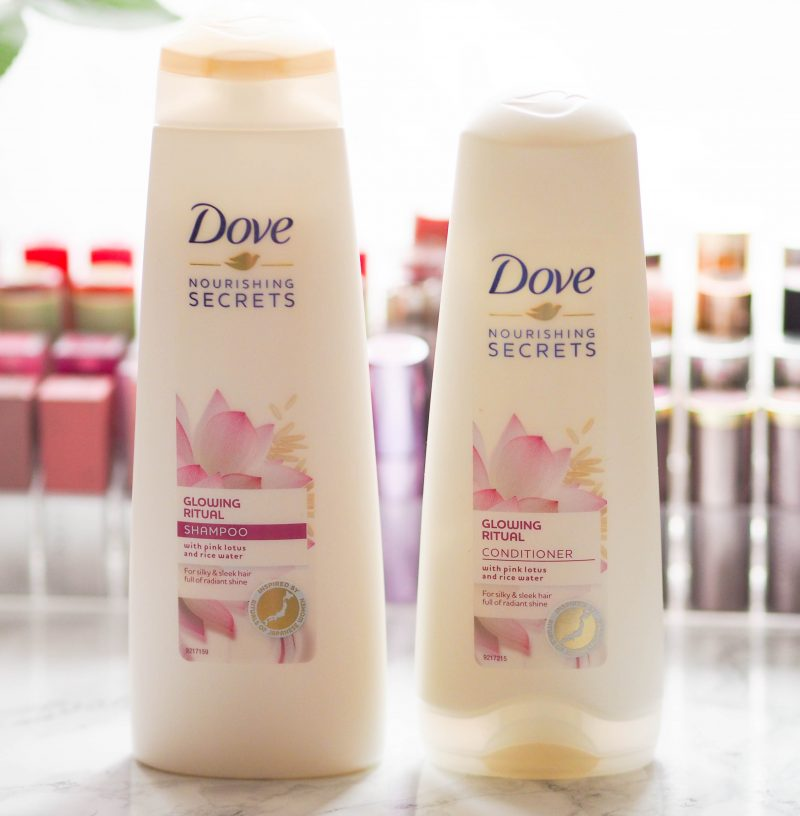 Dove Glowing Ritual Shampoo and Conditioner
