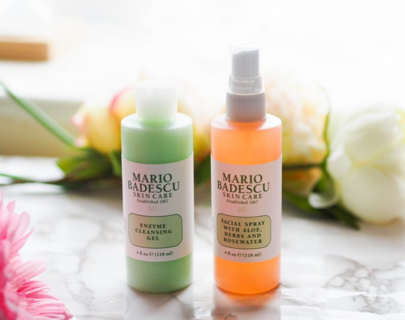 Mario Badescu Enzyme Cleansing Gel and Hydrating Spray