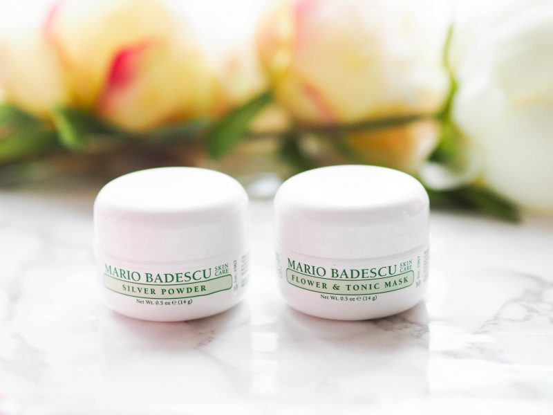 Mario Badescu Flower and Tonic Mask and Silver Powder