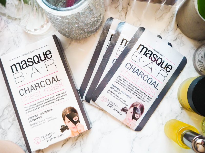 MasqueBar Charcoal Sheet Mask