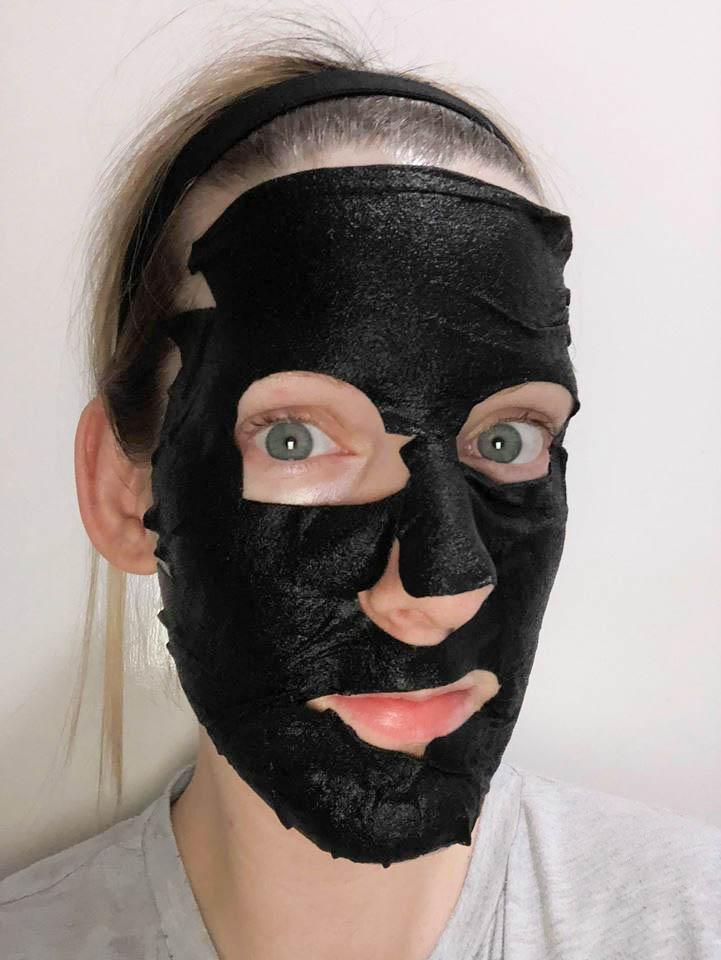 MasqueBar Charcoal Sheet Mask Review