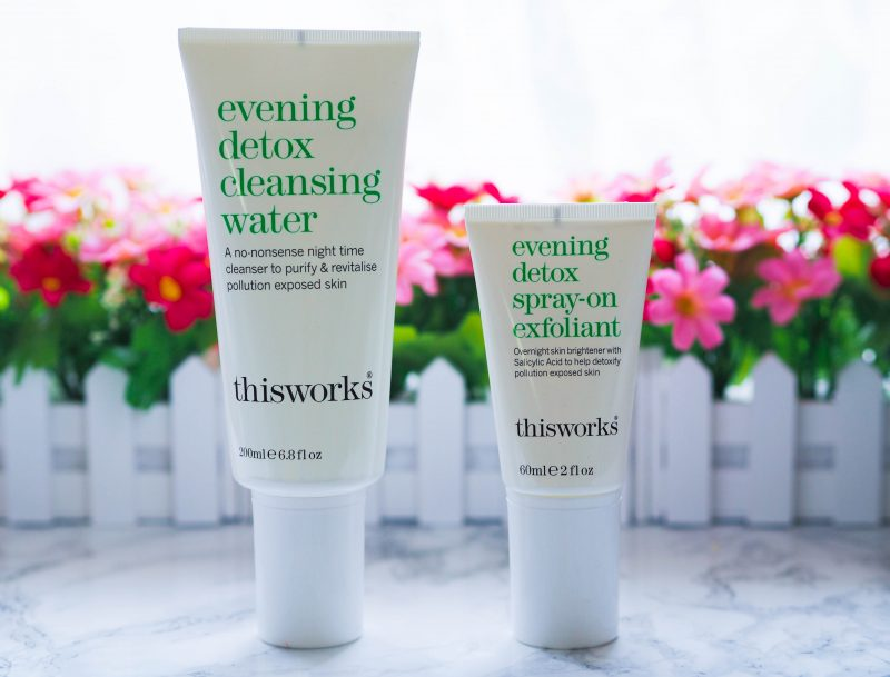 This Works Evening Detox Cleansing Water and Spray-On Exfoliant