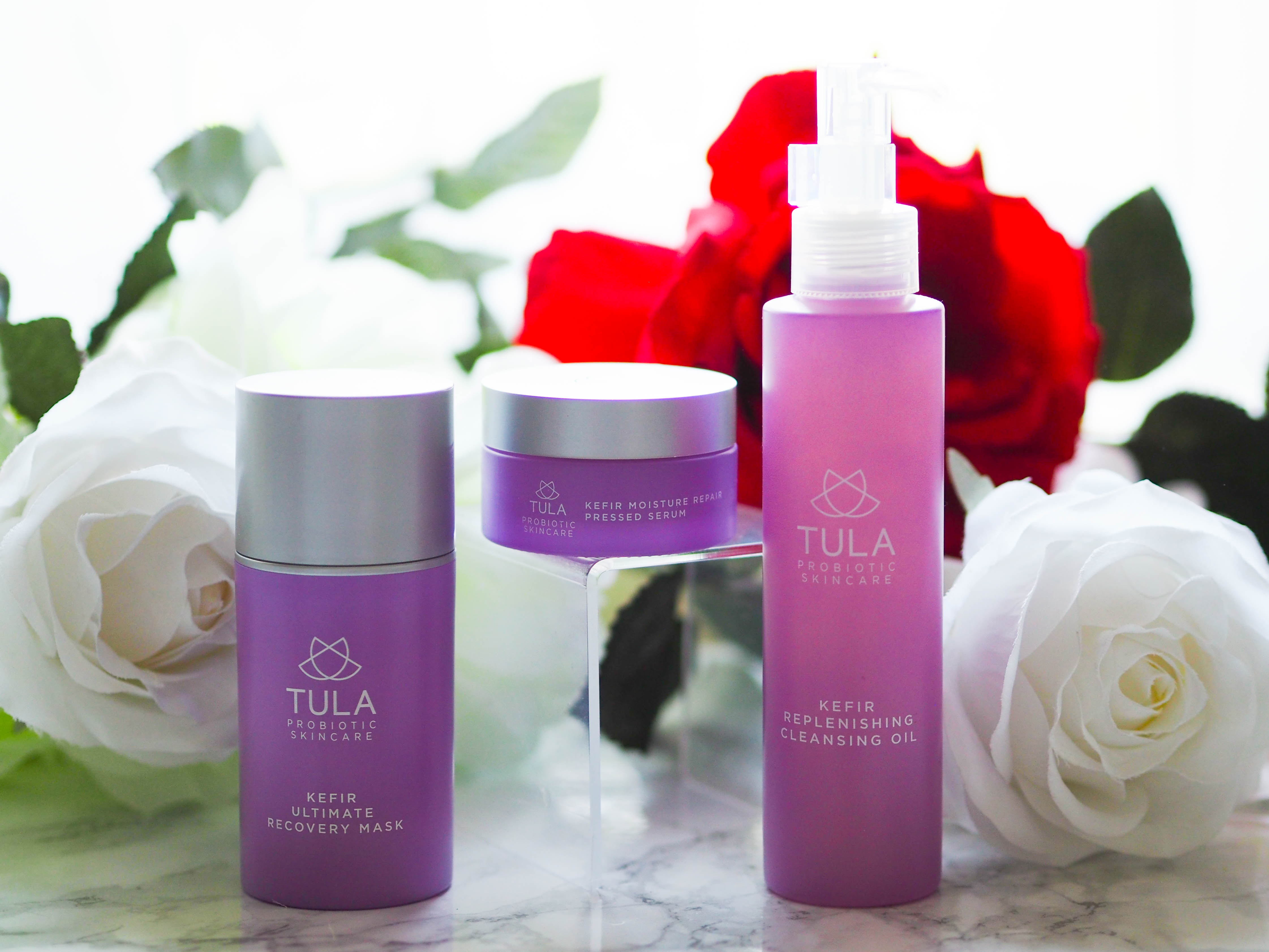 Tula Kefir Cleansing Oil Pressed Serum And Hydration Mask Beauty Black I Was Introduced To The Probiotic Skincare Range At Start Of Year So Impressed With It As Really Is A Lovely Products