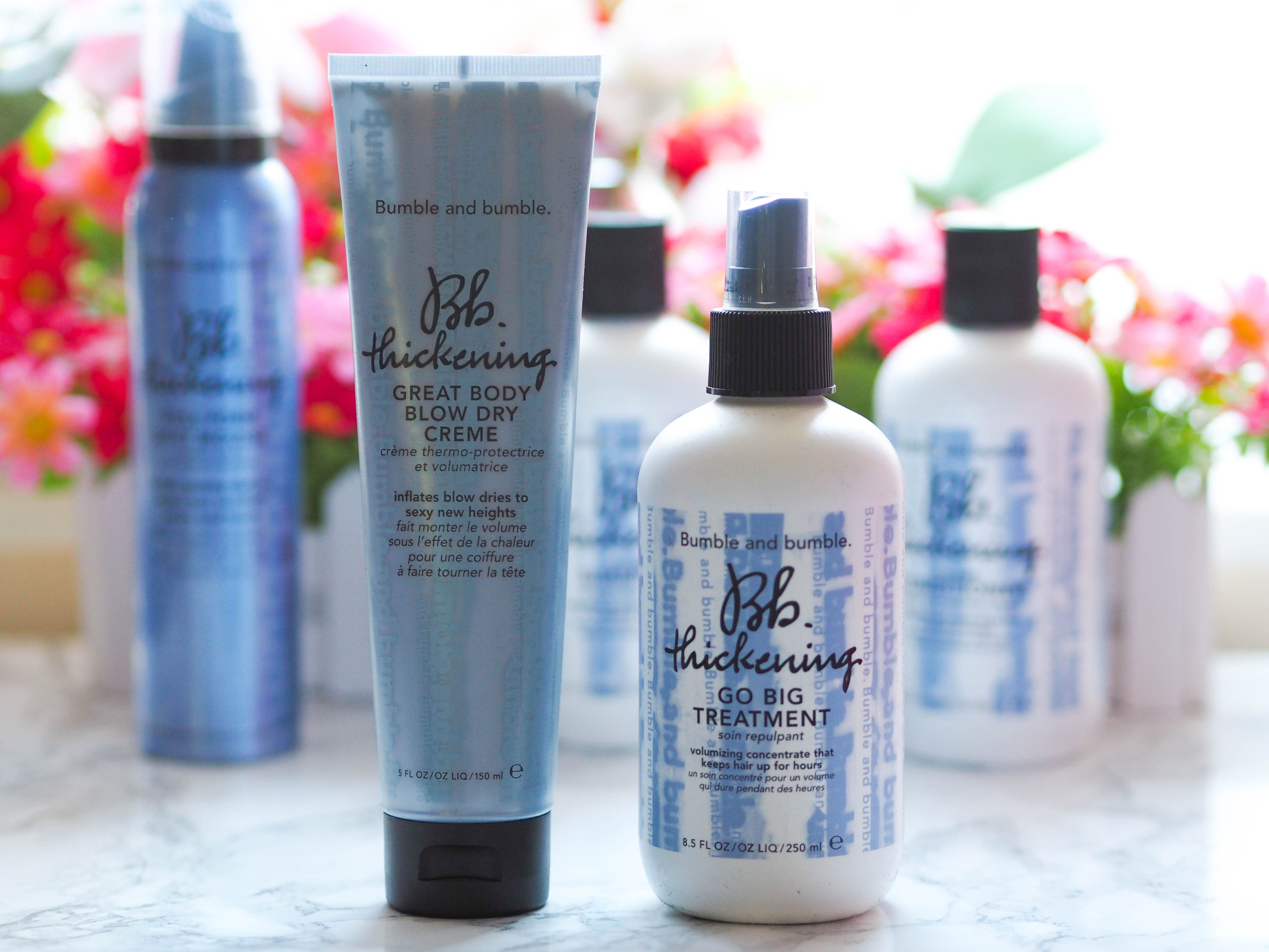 Bumble and Bumble Thickening Range Review